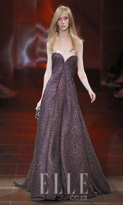 2010 F/W 오트쿠튀르Armani Priv Haute Couture