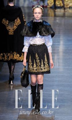 2012 F/W 밀라노컬렉션Dolce & Gabbana