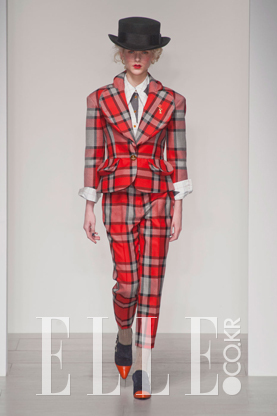2014 F/W 런던컬렉션Vivienne Westwood Red Label