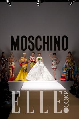2014 F/W 밀라노컬렉션Moschino