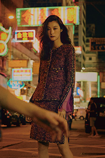 한밤의 패션 누아르