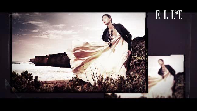 드레스다운한 여섯 벌의 매혹적인 드레스들