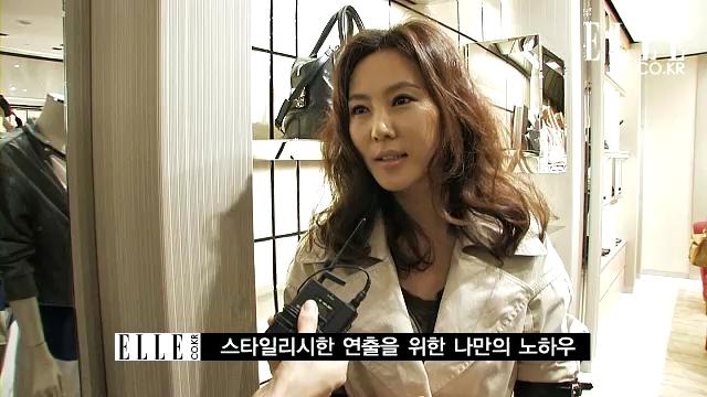 배우 김남주, 여신의 봄 나들이