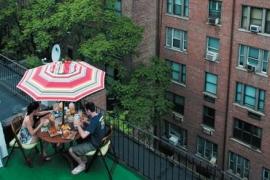 뉴욕의 옥상엔 드라마가 펼쳐진다
