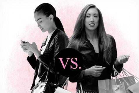 온라인 쇼핑 vs 오프라인 쇼핑