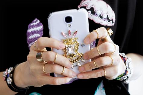 반지 고수들의 레이어드 팁!