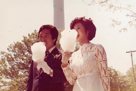 아리따운 그 시절, 엄마의 결혼식