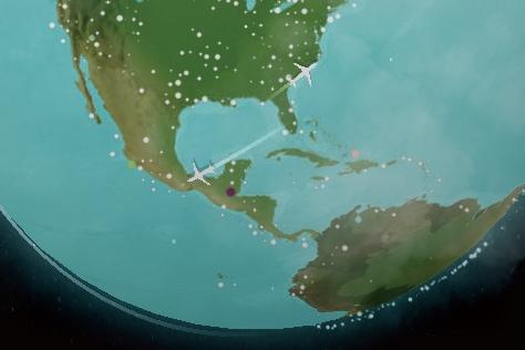 여행자들을 위한 인터랙티브 지도