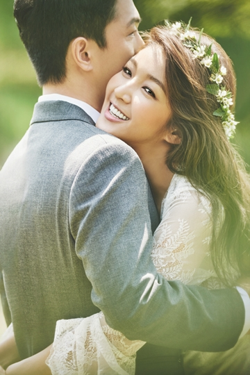 <엘르 브라이드> 가을호, 설레는 예비 신부 김빈우의 웨딩화보 공개!