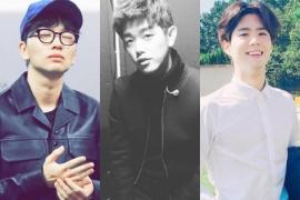 이동휘, 박보검, 에릭남. 크리스마스의 기적 같은 남자들