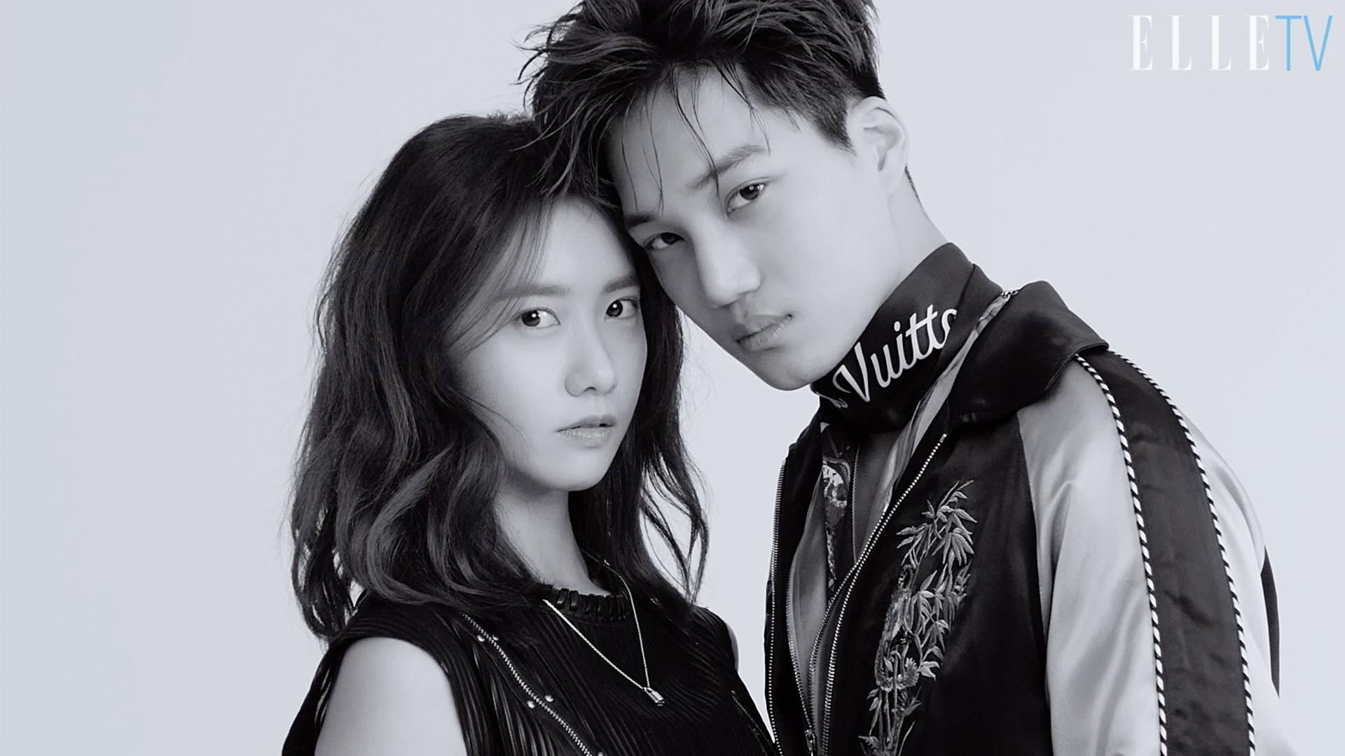 윤아와 카이, 비주얼 커플의 환상 케미