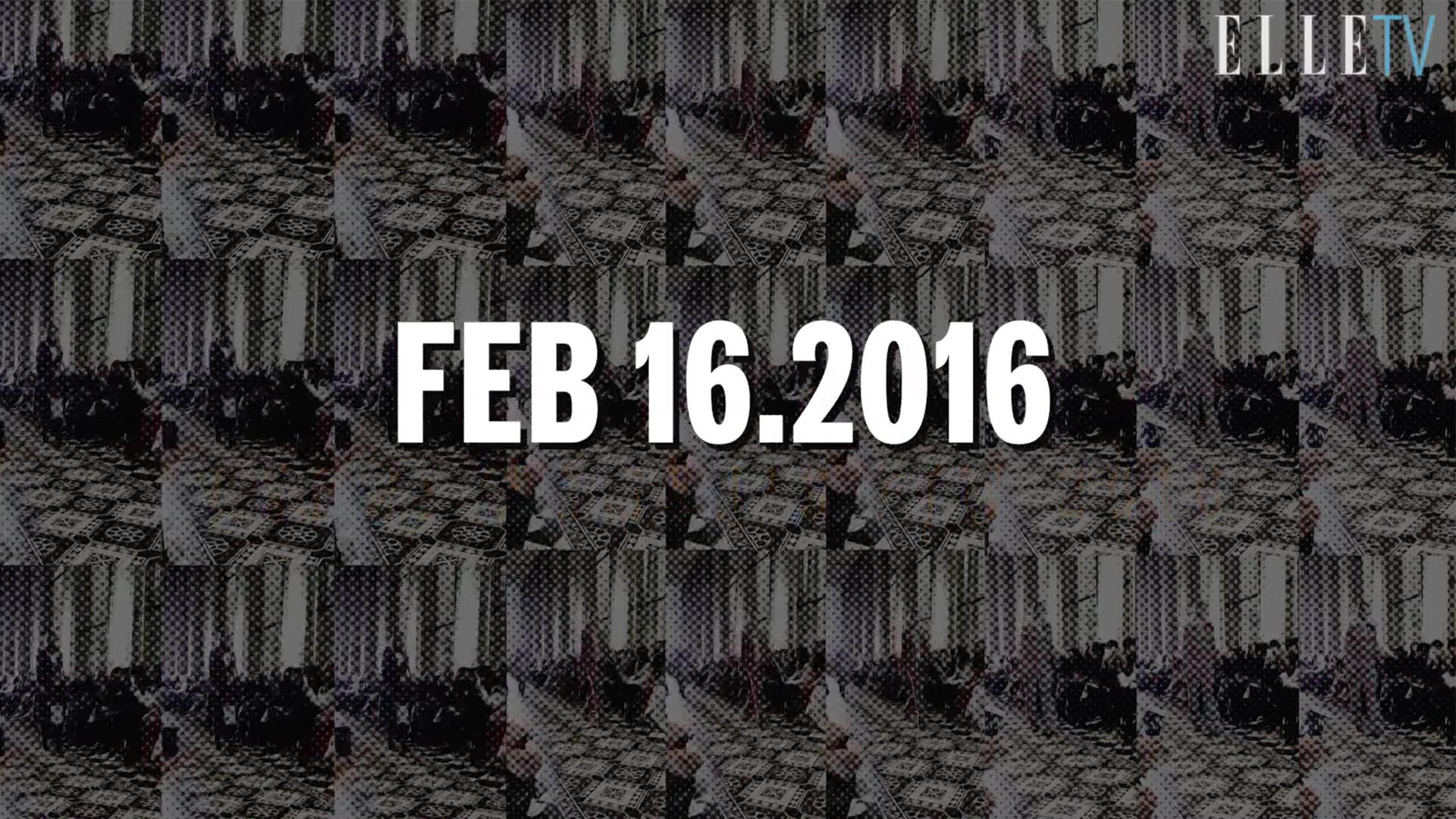 [ELLE SHOW TIME] 2016 F/W 뉴욕 패션 위크 2월16일 리포트