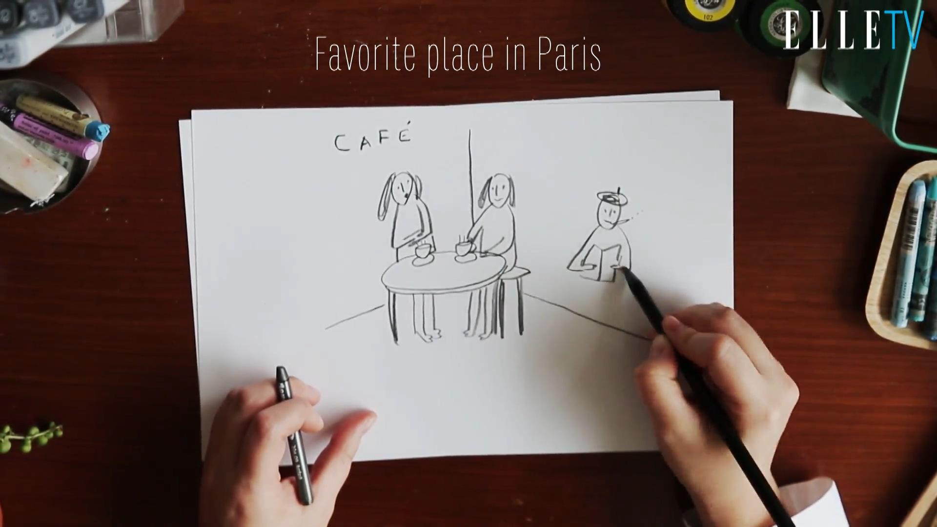 [Drawing Talk] 일러스트레이터 김참새와 나눈 드로잉 토크