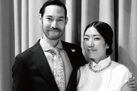 모델과 포토그래퍼의 결혼