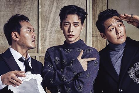 드라마 <맨투맨>의 박해진, 박성웅, 정만식을 만나다