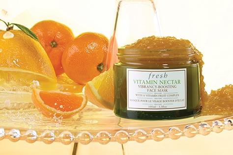 생기 가득 건강한 피부를 위한 바르는 비타민!
