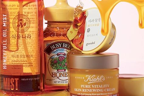 꿀 피부 만드는 꿀 화장품