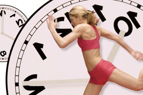 운동하는 여자의 시간은 거꾸로 간다?