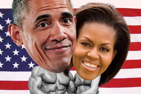 백악관 사상 최고의 몸짱 커플