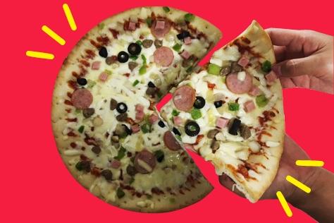 냉동 피자의 품격