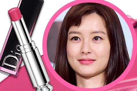 <윤식당>의 보조 쉐프 정유미의 립스틱