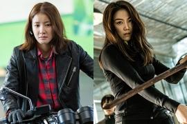 터프한 언니들의 패션 배틀! 이시영 vs 김옥빈