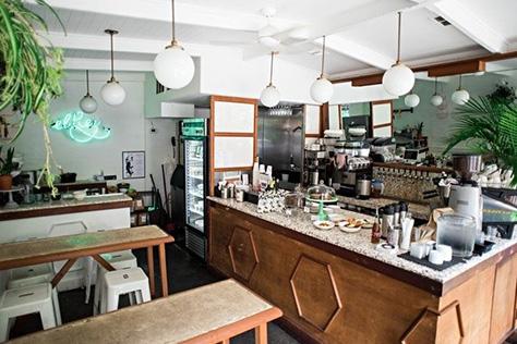 뉴욕에서 가장 분위기 좋은 커피숍