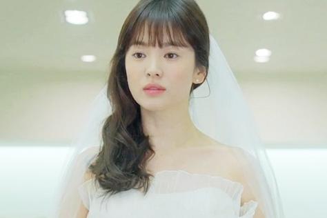 송혜교 드레스각