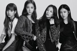 엘르 최초 K팝 그룹 단체 커버의 주인공 블랙핑크