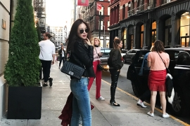 스타의 뉴욕 패션 다이어리