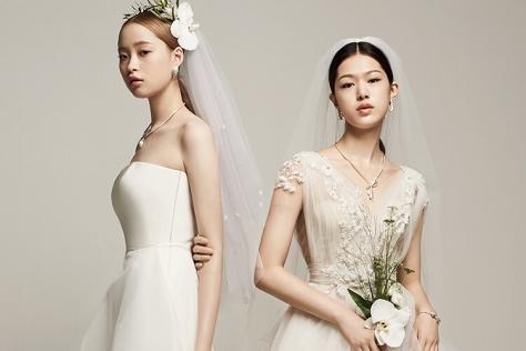 스타일별 웨딩드레스 컬렉션