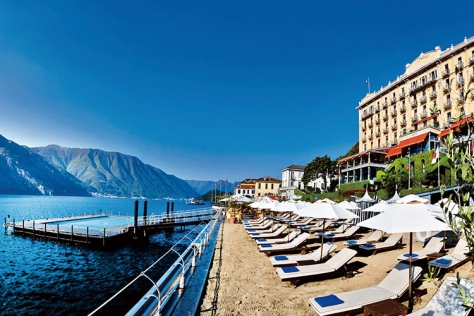 셀러브리티의 단골 여행지 이탈리아 코모 호수