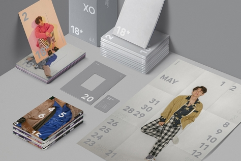 2018 아이돌 시즌 그리팅