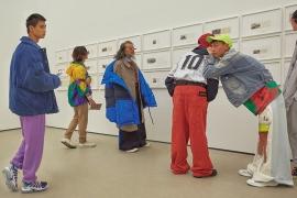 미술관 속 패션 모멘트