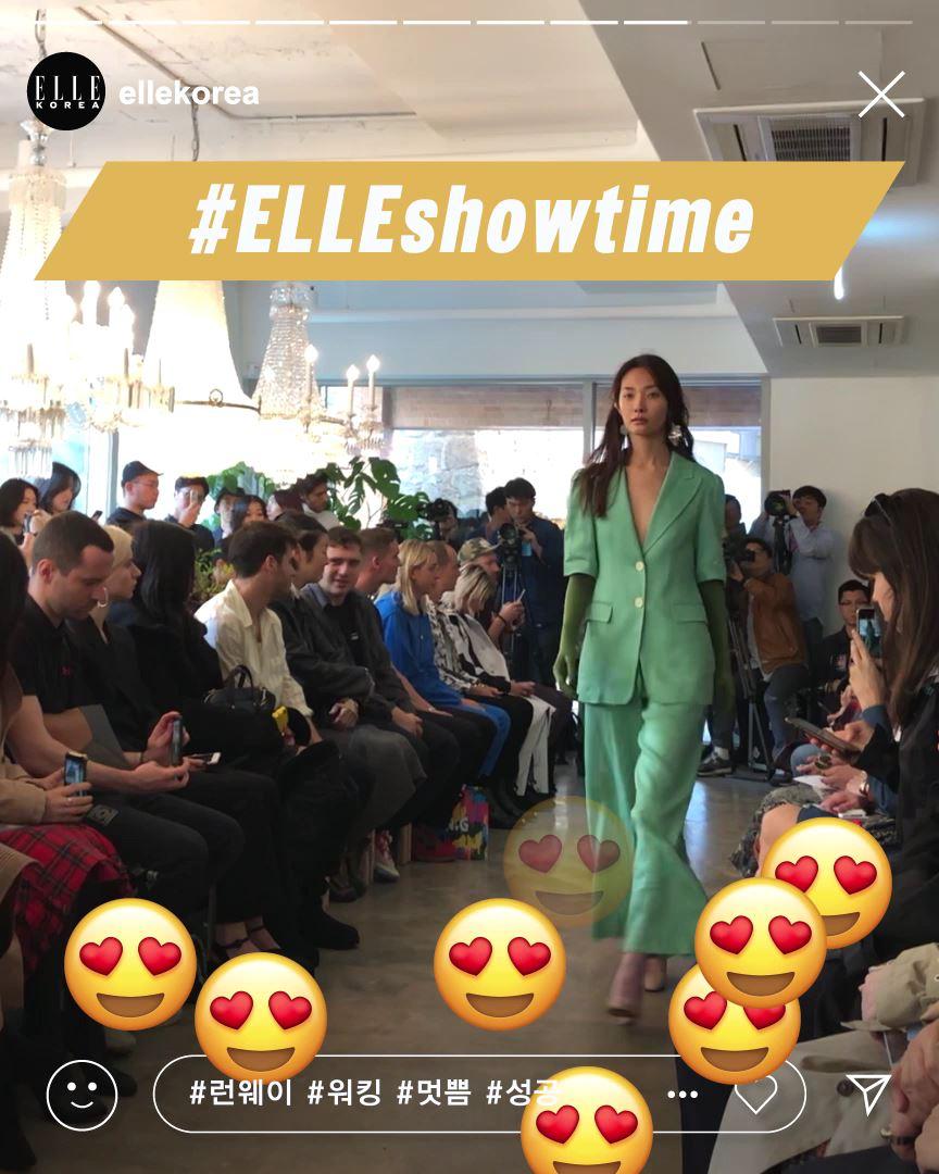 #ELLE팔로우미 런웨이에 오르는 모델 곽지영의 하루