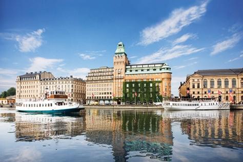 100년 가까이 된 스톡홀름 호텔