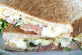 ELLE 레시피, 5분 만에 완성하는 초간단 샌드위치!