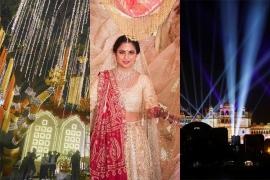 전세계가 집중, 인도 재벌의 초호화 결혼식