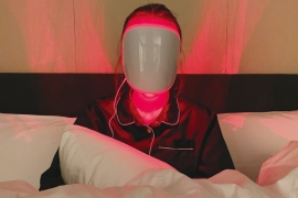 LED 마스크에 반하다