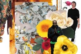 유명 디자이너들이 꽃에 꽂혔다