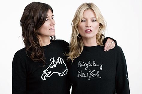 5명의 디자이너가 패션 아이콘과 진행한 매치스 패션의 착한 컬래버레이션. 스웨터 판매 수익금은 전액 기부한다.::매치스패션,스웨터,크리스토퍼 케인,벨라 프로이드,샤를로트 올림피아,자일스 디컨,헨리 홀랜드,케이트 모스,포피 델레바인,카렌 엘슨,에린 오코너,드리 헤밍웨이,기부,홀리데이,엘르,elle.co.kr::