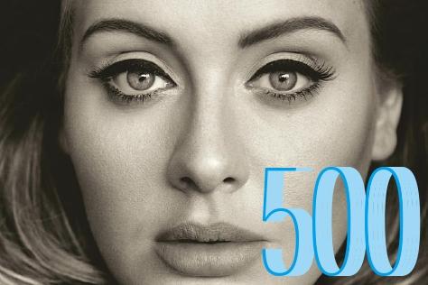 아델의 신보 <25>가 미국에서 500만장 판매를 돌파했다. 이전 앨범의 빌리언셀러 기록이 재현될까?::아델,25,앨범,신보,음악,빌리언셀러,500만장,넘버,숫자,엘르,엘르걸,elle.co.kr::