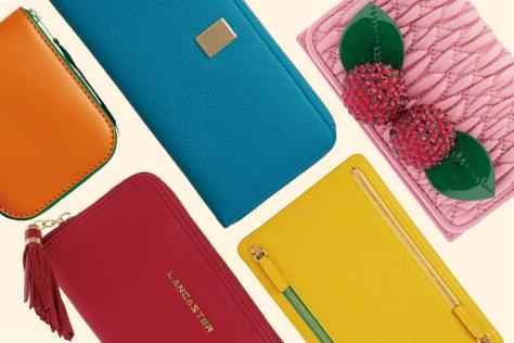 보고 있으면 기분까지 밝아지는 브라이트 컬러 지갑들! ::컬러 지갑,새해선물,뉴 아이템,뉴 지갑,엘르,엘르걸,elle.co.kr::