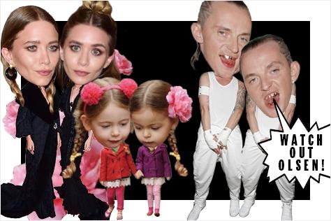 급격히 증가한 일란성쌍둥이들과 함께 하이패션과 스트리트 패션을 강타한 트윈덤.::쌍둥이,트윈,트윈덤,일란성쌍둥이,스트릿,스트리트 패션,스타,패션,엘르,elle.co.kr::