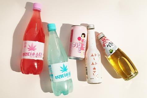 톡톡 쏘는 맛에 자꾸 찾게 되는 탄산주 4병.