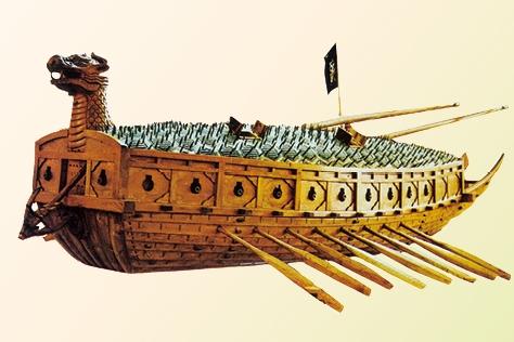 이순신 장군의 거북선이 세계 해군 역사상 7대 명품 군함 중 하나로 꼽혔다.::이순신 장군,거북선,세계,해군,역사,7대,명품,군함,미 해군연구소,임진왜란,엘르, elle.co.kr::