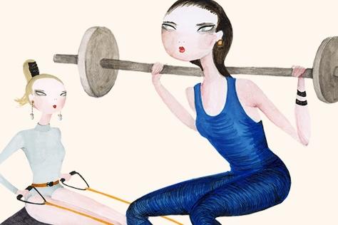이제 운동도 선택과 집중의 시대. 무작정 헬스장으로 직행하기에 앞서 내 체형이 어떤지, 그에 따른 유전적 특징은 무엇인지 먼저 아는 것이 필수다.::운동,workout,다이어트,건강,체형,운동법,엘르,elle.co.kr::