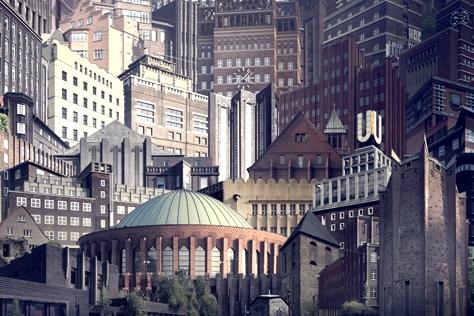 낡고 오래된 도시를 기억하는 방법.