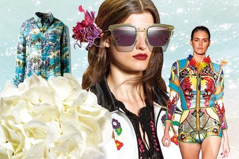 하와이의 하늘과 바다가 떠오를 때 도심 속에서 파라다이스를 만끽해볼 만한 하와이언 무드 아이템들.::하와이,패션,아이템,패션아이템,하와이언,하와이룩,여행패션,룩,엘르,엘르걸,elle.co.kr::