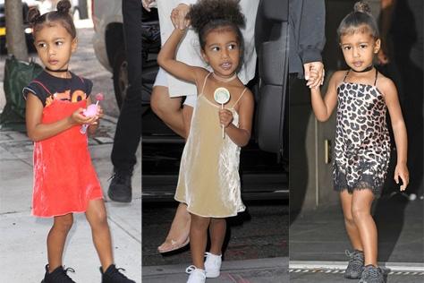 디즈니 캐릭터 의상에서 베트멍까지 전 방위적으로 패션계를 섭렵하고 있는 킴&칸예 커플의 딸 노스 웨스트(North West). 어엿한 패션 아이콘으로 거듭나고 있는 노리의 #패션스타그램을 팔로했다. 참, 놀라지 마시라. 그녀의 나이는 아직 3살이니까::노스 웨스트, 킴 카다시안, 칸예 웨스트, 노리, 패션, 할리우드, 셀럽, 딸, 스타일, 파파라치, 패밀리,패션 키즈, 힙스터, 스트리트 스타일, 데일리 룩, 슬립 드레스, 이지, yeezy, pablo,인스타그램, 엘르,elle.co.kr